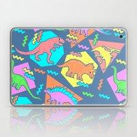 Nineties Dinosaur Patter… Laptop & iPad Skin