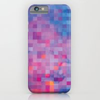 pixel iPhone & iPod Cases featuring Pixel by Marta Olga Klara