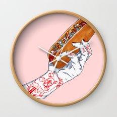 Bacon Me Crazy Wall Clock