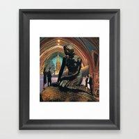 Arsicollage_12 Framed Art Print