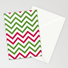 Graphic Holiday Pattern Stationery Cards