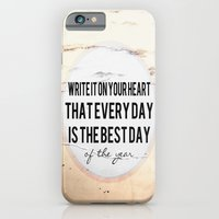 Write It On Your Heart  iPhone 6 Slim Case
