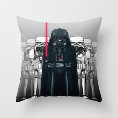 Darth Vader and Stormtroopers Throw Pillow