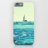 iPhone Cases featuring Sailin' by Lisa Argyropoulos
