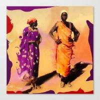 Land Of The Sahara Canvas Print