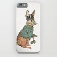 rabbit iPhone & iPod Cases featuring Rabbit by David Fleck