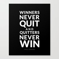 Winners Canvas Print
