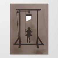 Swing Blade Canvas Print
