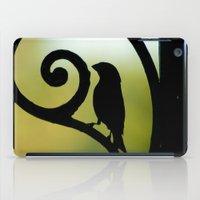 Bird on the Ironwork iPad Case