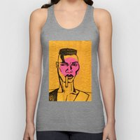 grace jones. Unisex Tank Top