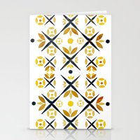 The Fence (Gold) Stationery Cards