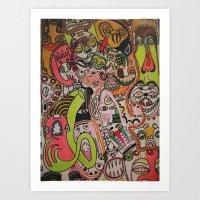 miles davies Art Print
