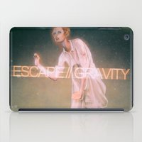 Escape Gravity And Into Space iPad Case