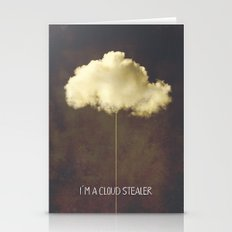 Im a cloud stealer Stationery Cards
