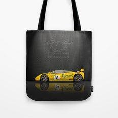 1995 McLaren F1 GTR Le Mans - Harrods Livery #06R  Tote Bag