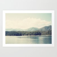 In The Shadow Of The Alp… Art Print