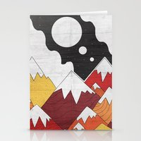 Three Moon Mounts Stationery Cards