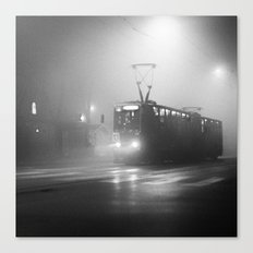 TRAM NUMBER 13 Canvas Print