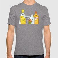 Margarita! Mens Fitted Tee Tri-Grey SMALL
