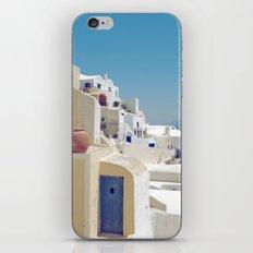 Santorini Door VIII iPhone & iPod Skin