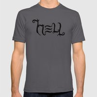 Raise HELL Mens Fitted Tee Asphalt SMALL