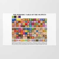 The Periodic Table Of Th… Rug