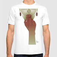APERITIF II Mens Fitted Tee White SMALL