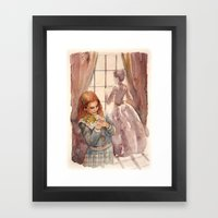Wendy and Mrs. Darling Framed Art Print