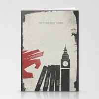 V for Vendetta, Alternative Movie Poster Stationery Cards