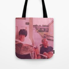 Next Stop Chaos Tote Bag