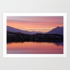 Queenstown, NZ Art Print