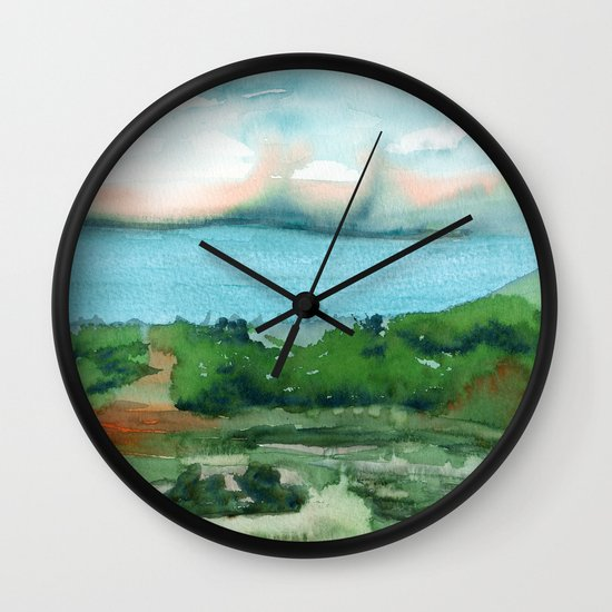 Passing Afternoon Wall Clock