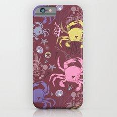 Crab pattern Slim Case iPhone 6s