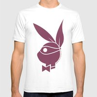 Playboy Turtle: Donatell… Mens Fitted Tee White SMALL