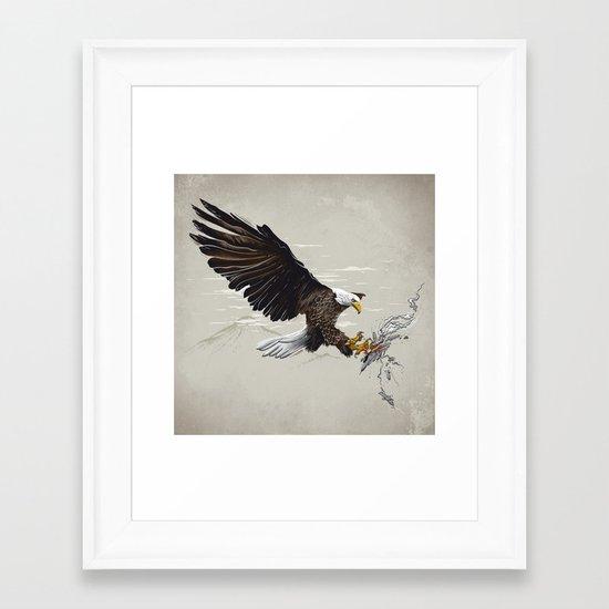 Air Fighter Framed Art Print