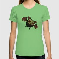 RedEye The Vampire Bat B… Womens Fitted Tee Grass SMALL