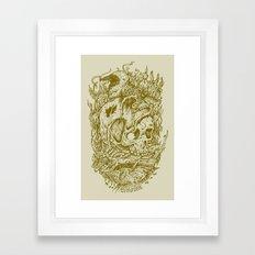 Fall Remains Framed Art Print