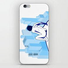Me against the city iPhone & iPod Skin