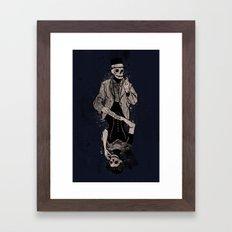 Dead Game Framed Art Print