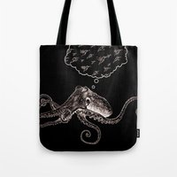 Octopus Daydream Tote Bag