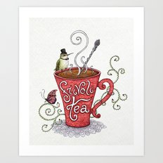 Frivoli-Tea Art Print