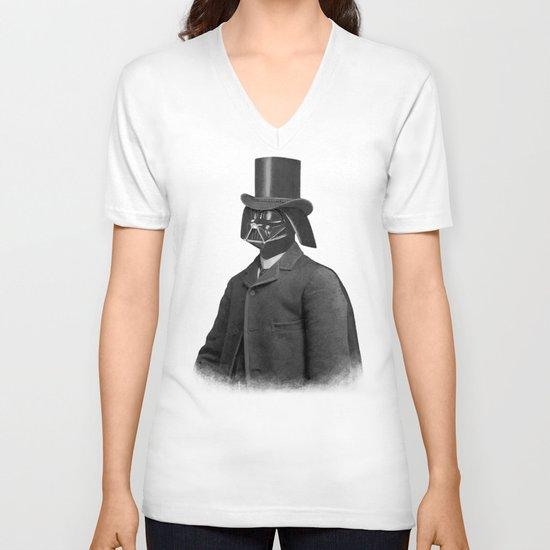 Lord Vadersworth (square format)  V-neck T-shirt
