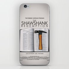 the shawshank redemption iPhone & iPod Skin