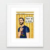 Wil says... Framed Art Print