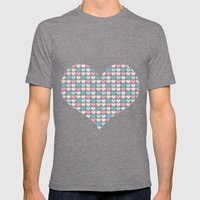 sweet hearts Mens Fitted Tee Tri-Grey SMALL