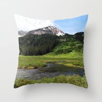Crested Butte Throw Pillow