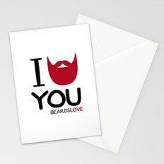 I BEARD YOU Stationery Cards