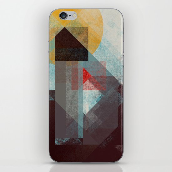Over mountains iPhone & iPod Skin