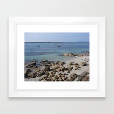Ireland - Connemara Region - Irish Beaches Framed Art Print