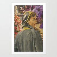 Perfume Garden Art Print